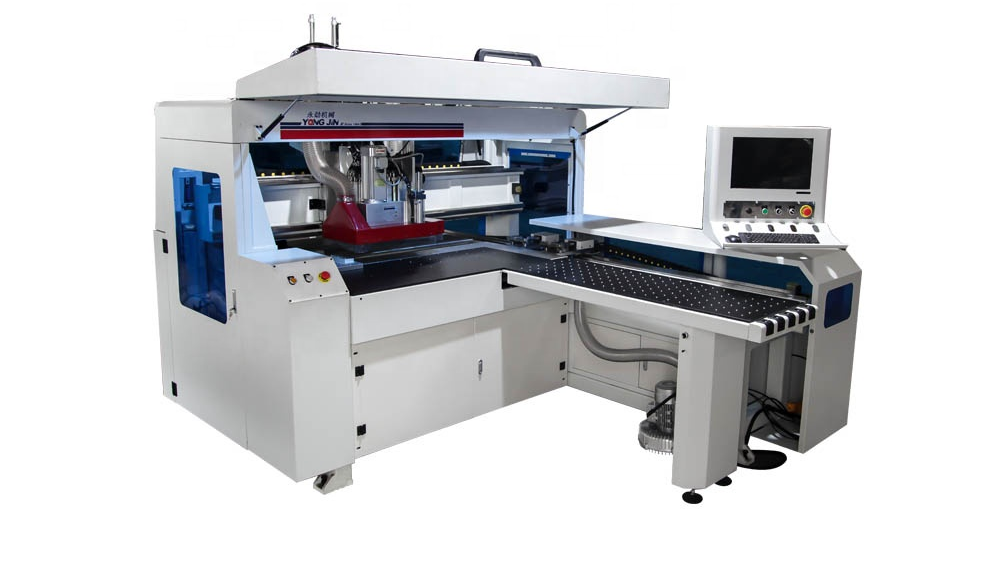 YJ-1200 Highly cost effective drilling boring hole cnc multi drill machine