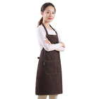 2019 hot selling cotton smock sublimation hemp kitchen bbq tablet aprons for women comfortable vintage apron patterns for sewing