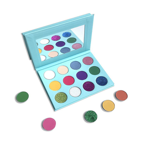 Makeup private label eyeshadow palette cruelty free vegan Empty Palette