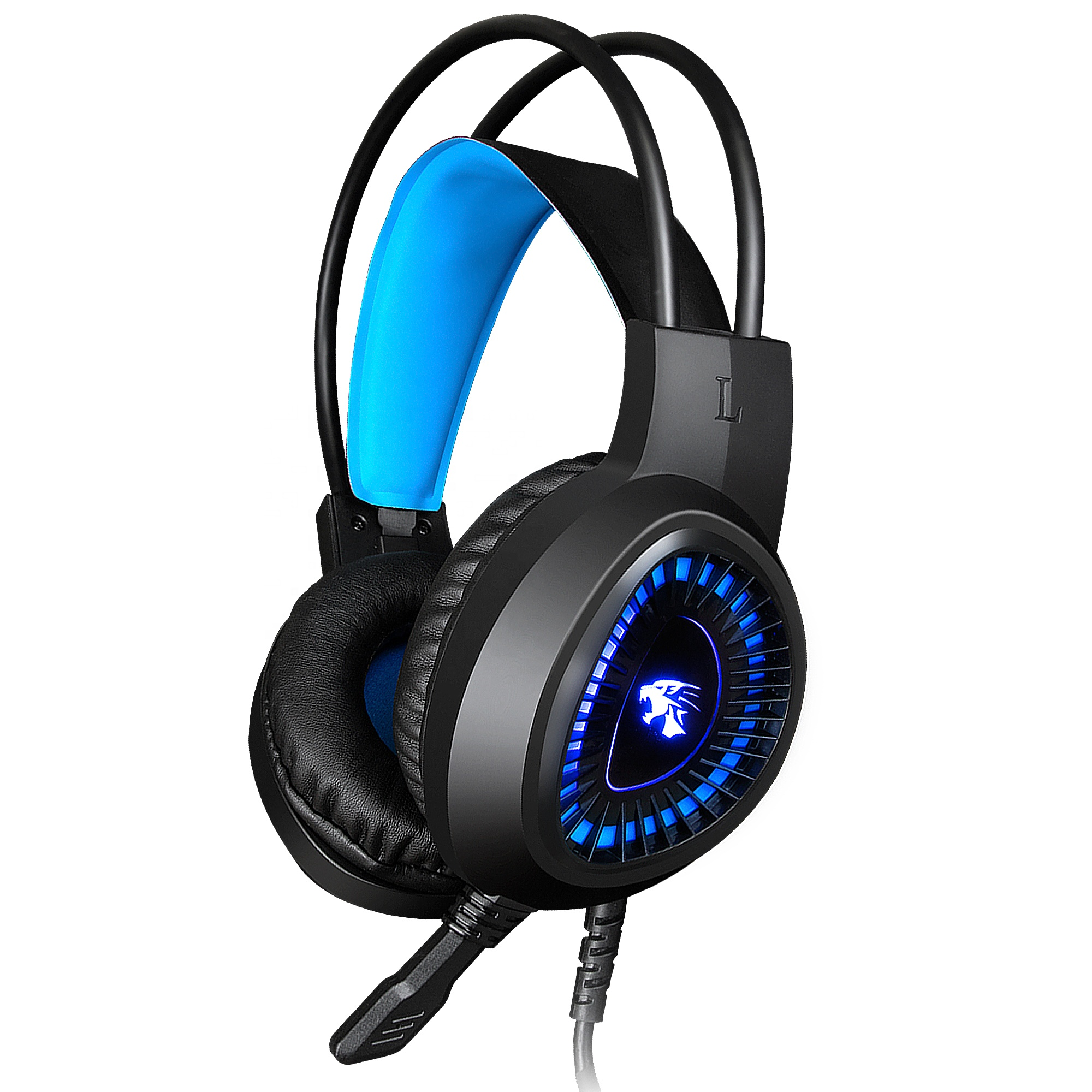 headset gamer for 7.1 PC Controller Gaming Headphone with Crystal Stereo Bass Surround Sound, LED Light