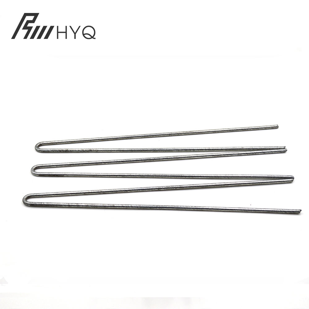 Galvanized Steel Garden Stakes Staples Securing Pegs