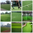 Cricket [ Synthetic ] 50mm Synthetic Grass Cricket Pitch Football Turf For Playground