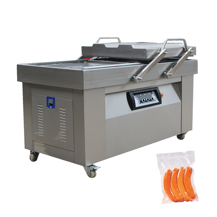 Dz 400/500/600 Automatic Large Double Chamber Vacuum Packing Machine Or Vacuum Packer For Tea,Meat,Rice,Food,Fish