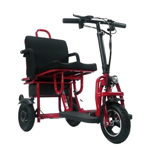 2019 New adult disabled electric folding three wheels portable lightweight mobility scooter