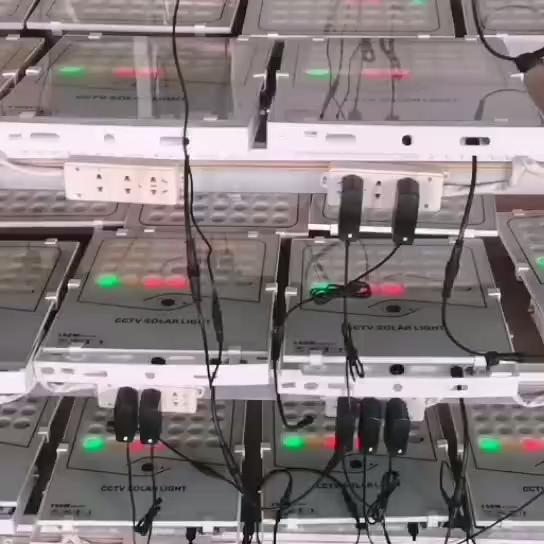 2020 200w CCTV 태양 주도 풍경 홍수 태양 벽 빛 가로등 야외