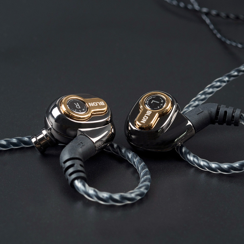 Blon BL-05 Professional 10mm Carbon Nanotube Diaphragm High Dynamic HIFI Earphone Detachable Cable 2pin 0.78mm