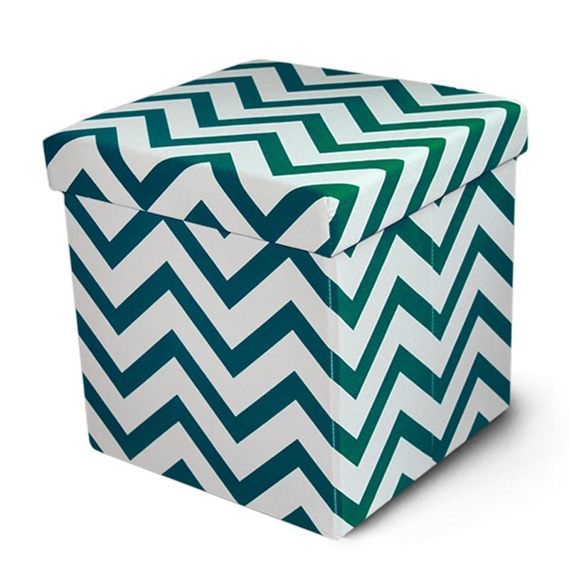 customized home furniture living room pouf modern folding storage ottoman  stool