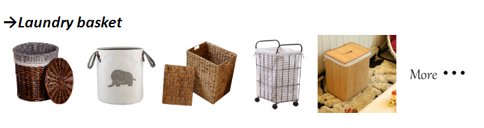 Customized foldable storage box wholesale storage basket fabric basket  with pattern