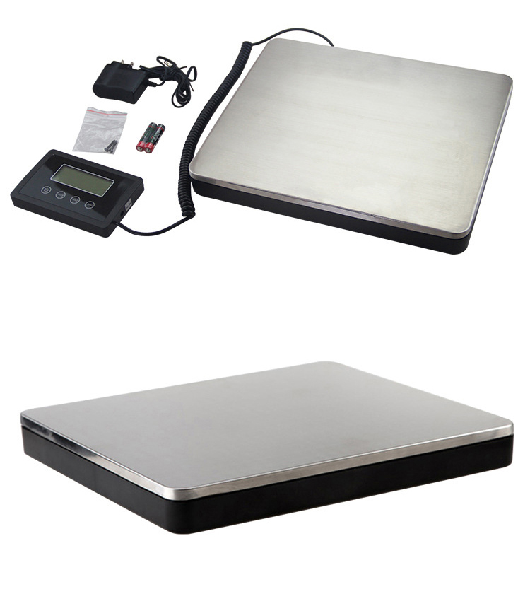 New Digital Rechargeable Household Weighing Scale Parcel Balance 180kg