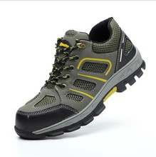 High Quality Customized Steel Toe Breathe Freely Light Safety Shoes Work Boots