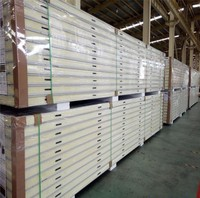 Factory direct sale 100mm polyurethane cold room sandwich panel wall