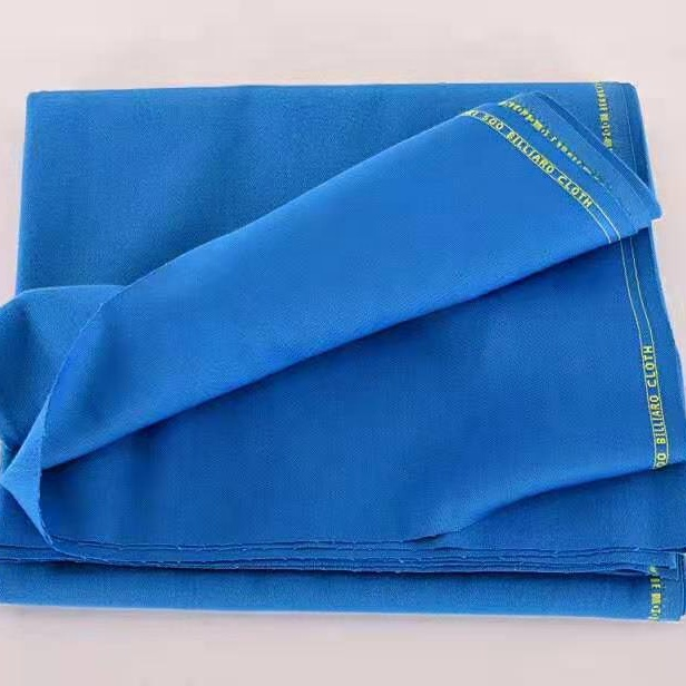 Nine-ball Pool Billiard Table replacement Fast Speed Cloth full set -Blue color