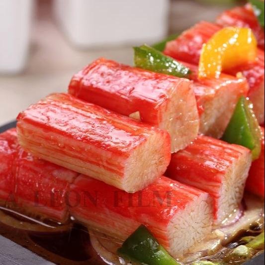 LICHUAN Mouthwatering frozen surimi crab stick product Seafood surimi products