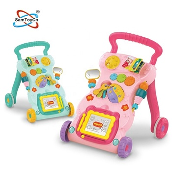 Music Light Baby First Step Learning Walker Baby Toy with Multifunction Toys