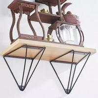 FLOATING WALL SHELF MOUNT RACK BRACKET WOODEN HANGING HOME DECORATIONS STORAGE SHELVING HOLDER