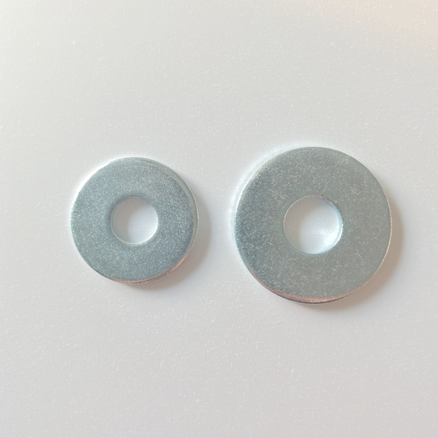 "3"" Fastener Metal Parts Plate Round Fender Washers New Auto Large Flat Bolt Manufacturer 5 X 10 0.5 Nut And Washer M6 Ordinary"