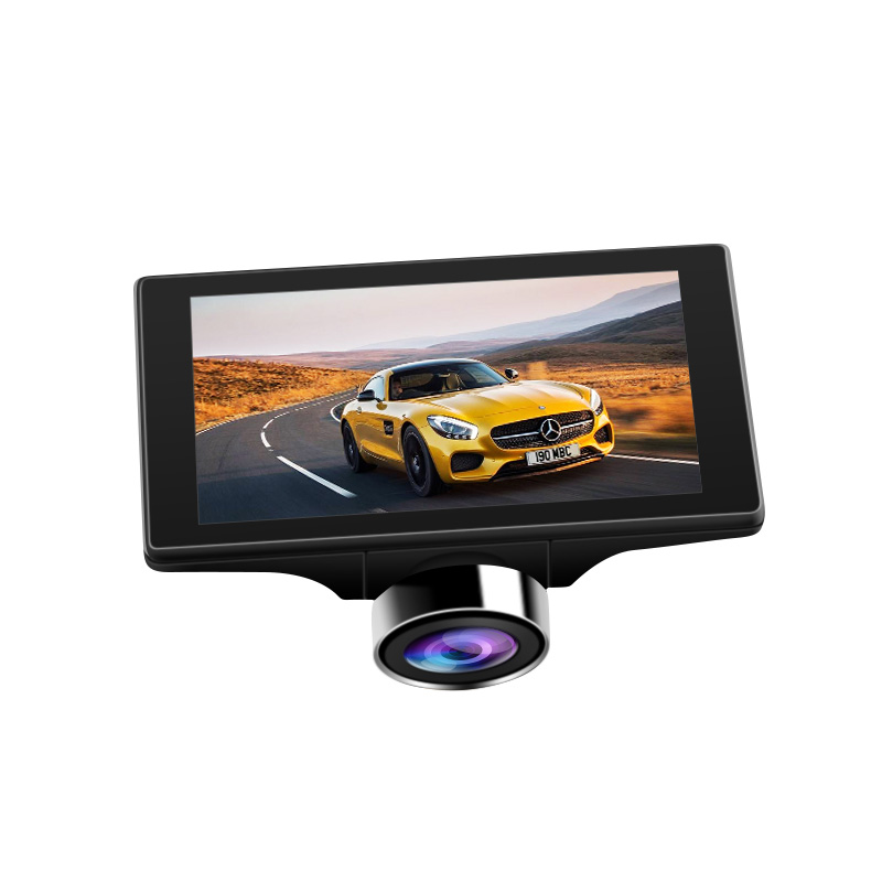2 inch 1 car dvr with GPS 1080p grade HD wide angle   with  touch screen