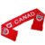 Manufacture Sport Football Scarves No Minimum Custom Knitted Scarf Jacquard Custom Football Scarf Fan Scarf