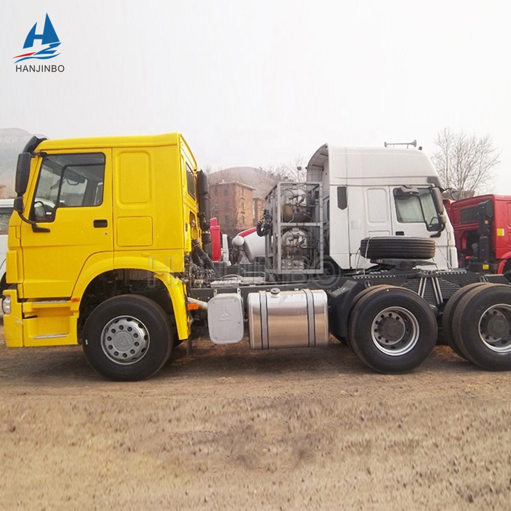 Used Tractor Truck Sinotruk 6X4 HOWO 371HP 420HP Tractor