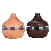 Free Sample - New USB Humidifier Aroma Diffuser Cool Mist LED Night Light Mute Air Humidifier