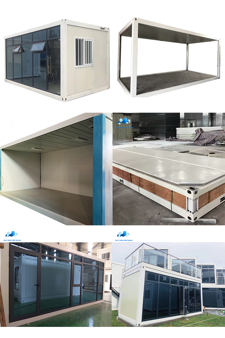 20 ft 1 bedroom container homes prefab house camp prefabricated house