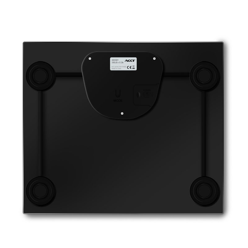 Household glass bathroom digital body weight scale