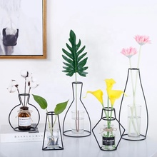 Mayco Moderne Design Concise Metall Vase Nordic Dekoration <span class=keywords><strong>Wohnkultur</strong></span>