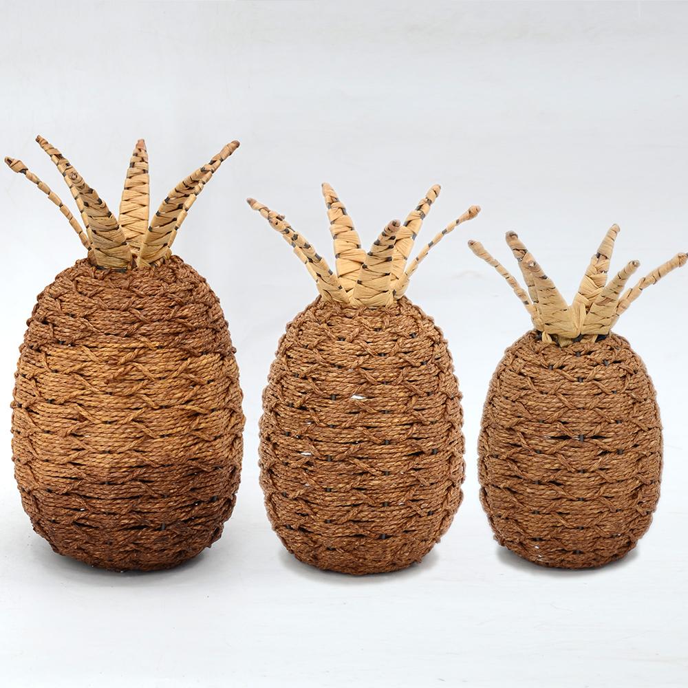 Pineappel-moldura de diseño para manualidades, accesorios de decoración para el hogar, Interior moderno, venta al por mayor