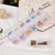 12 openings box pack water drop shape 12 colors mixed flatback glue stick nail ab crystals rhinestones for nail art