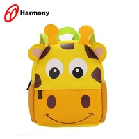 2019 China new promotional 3d kids zoo animal little kids school backpack