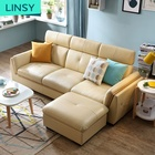 Leather Sofa Sofas Factory Hot Sale Modern Leather Furniture Set Sofa Bed