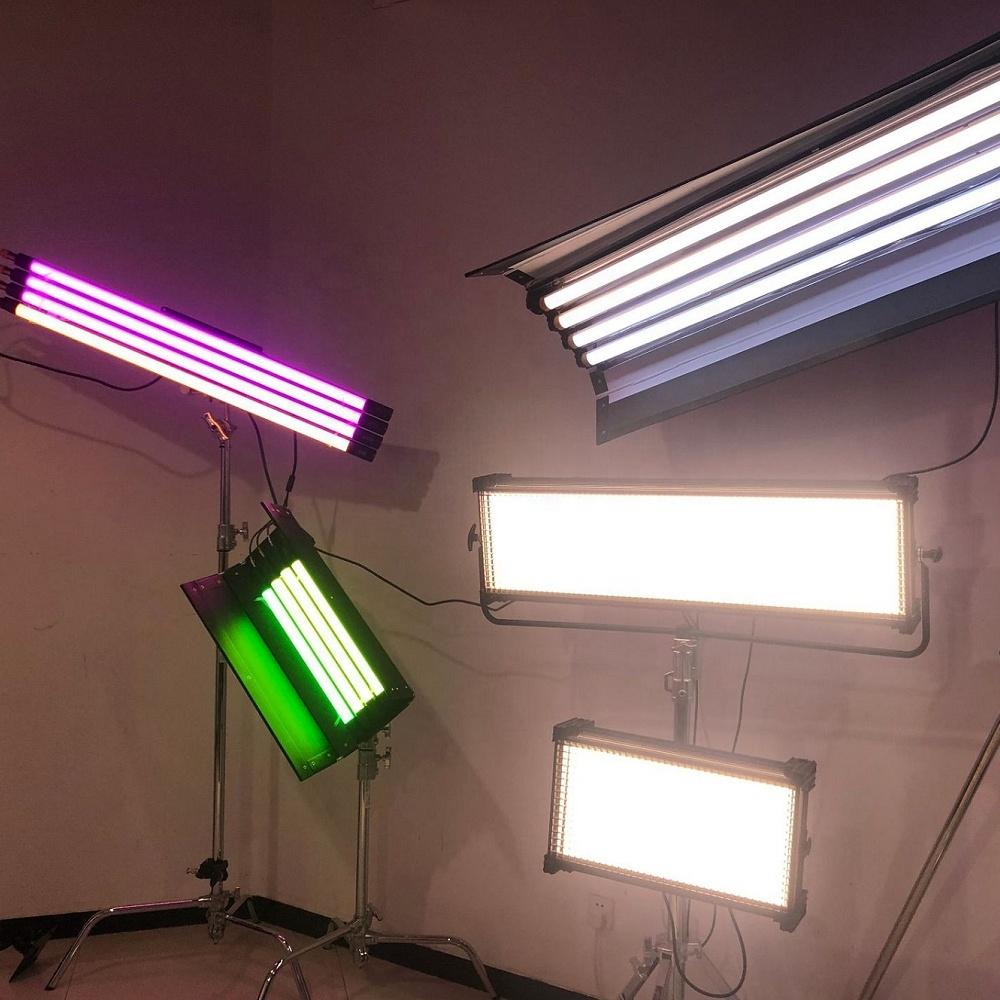 2ft RGBW LED Tube with Internal Battery 4 Light Kit,  Photography Shooting Light Studio Lighting Kit