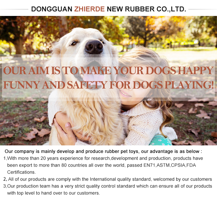New Durable Non-Toxic Rubber Dog Toy Treat Dumbbell Pet Interactive Dog Toys For Aggressive Dog Chewers IQ Training Snack Toys