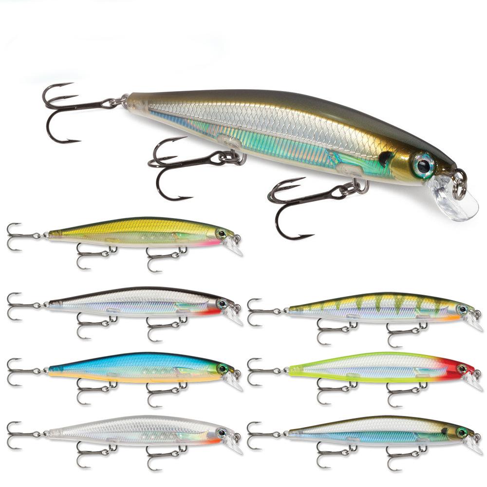 Peche Leurre Souple Articulos De Pesca 11cm/13g Carp Fishing Lures Minnow Swimbait Fishing Tackle Bait Lurekiller Vissen, 7 colors