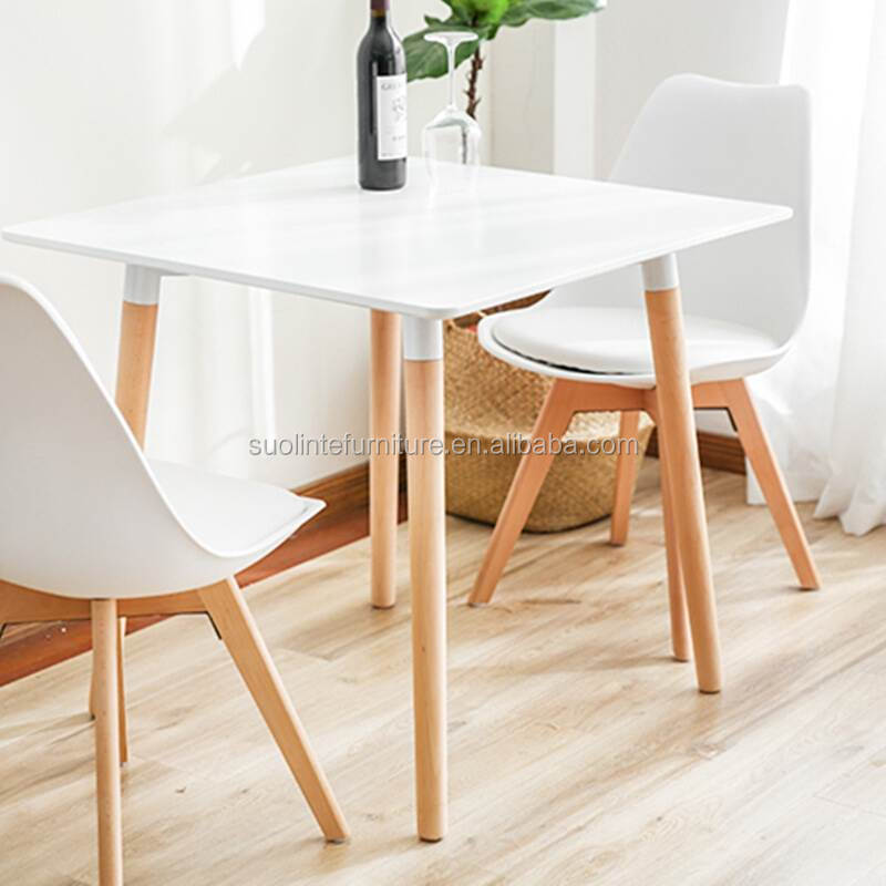 mesas de comedor simple wooden centre table designs MDF wooden dinning table with chairs