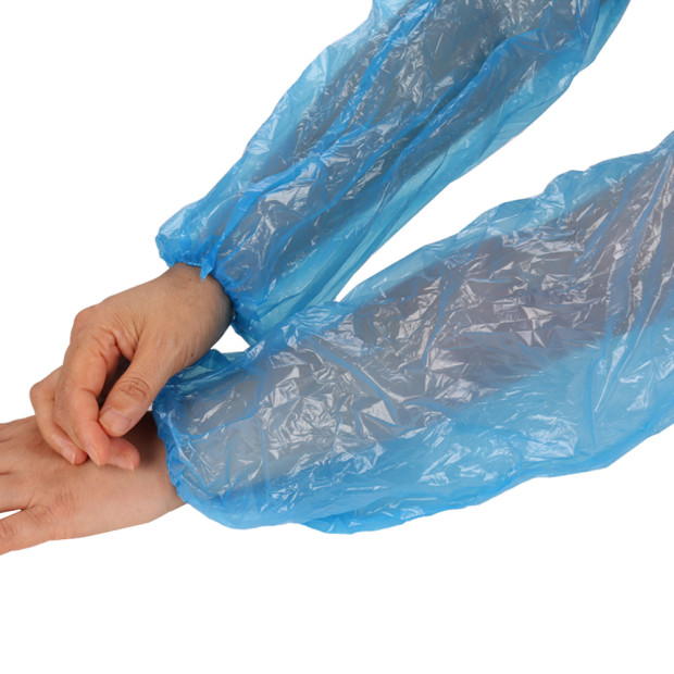 Disposable Waterproof PE arm Sleeve Cover for hospital
