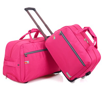 New leisure travel luggage rolling duffle trolley bag