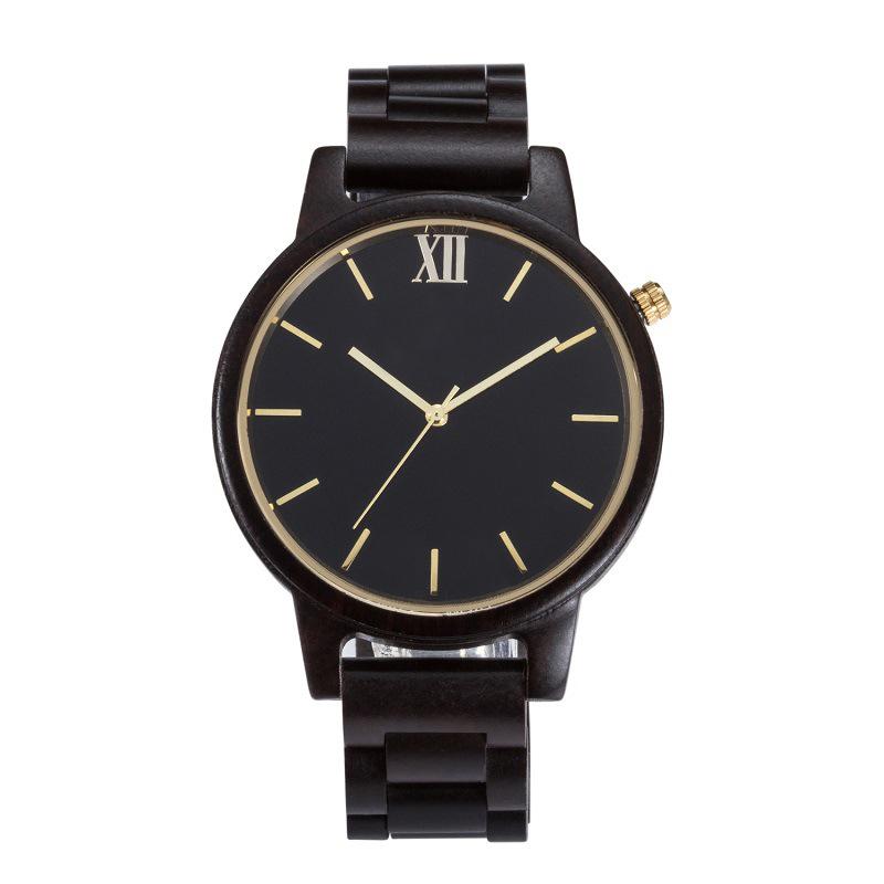 2019 Latest Design of Wooden Quartz Wrist Watch for Men and Women