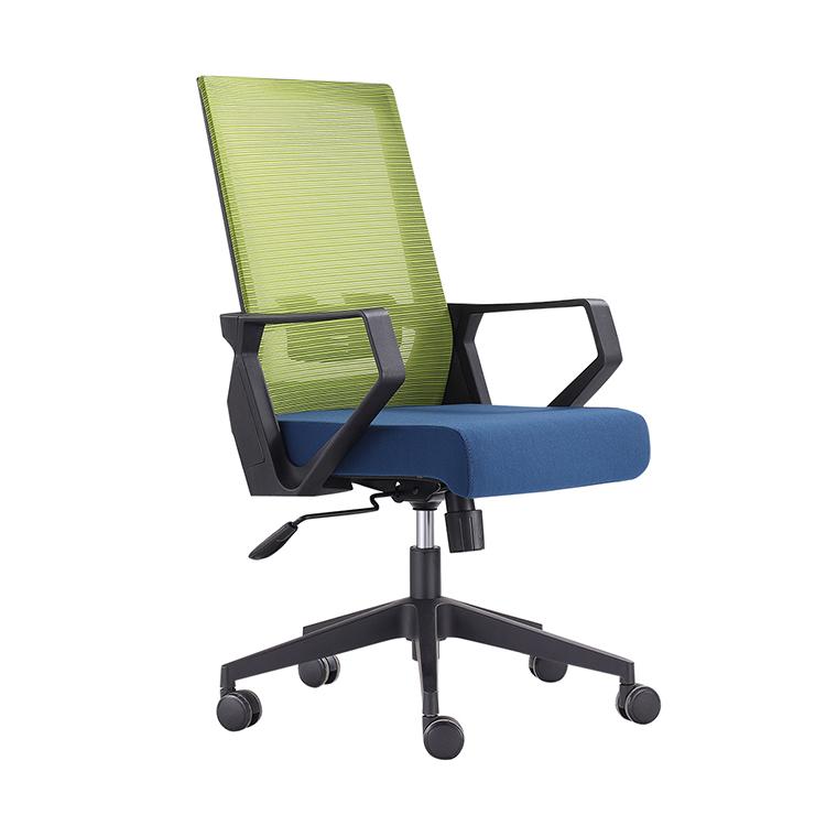 610B Heißer verkauf stuhl PP + glasfasergasbehälter armlehne feste PP + glasfasergasbehälter rahmen ergonomische büro stuhl