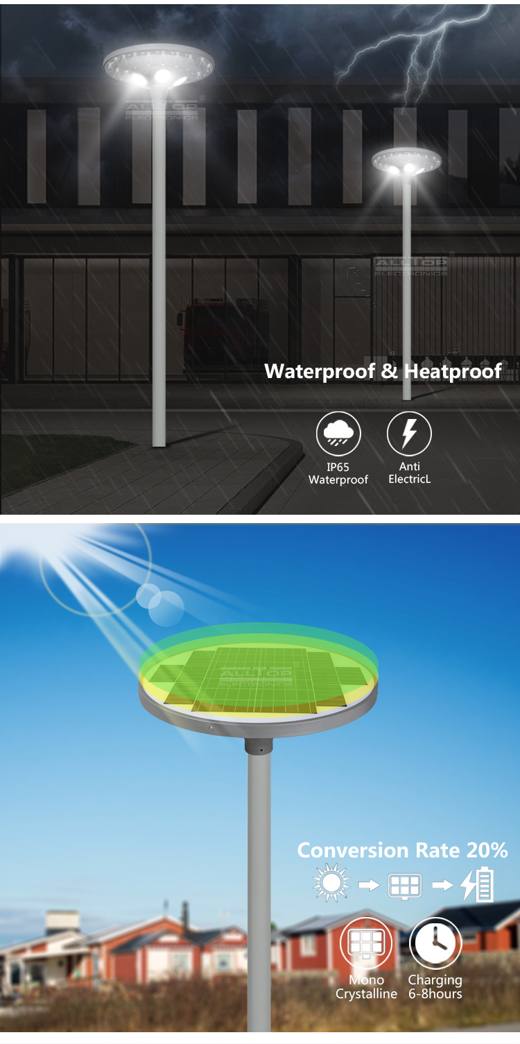 ALLTOP solar led lamp post light-11