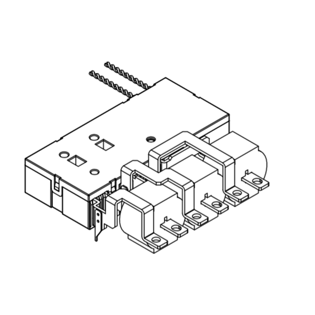 DS907B TUV ROHS אישור 3 שלב יחיד כפולה נעילה ממסר, 120A חכם מטר ממסר