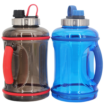Gallon Water Bottle Motivation with Time Marker/Large Water Jug/Dishwasher Safe/Leakproof