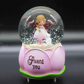 Crystal ball music box music box creative birthday gift girl girlfriends send children children Valentine's Day gifts