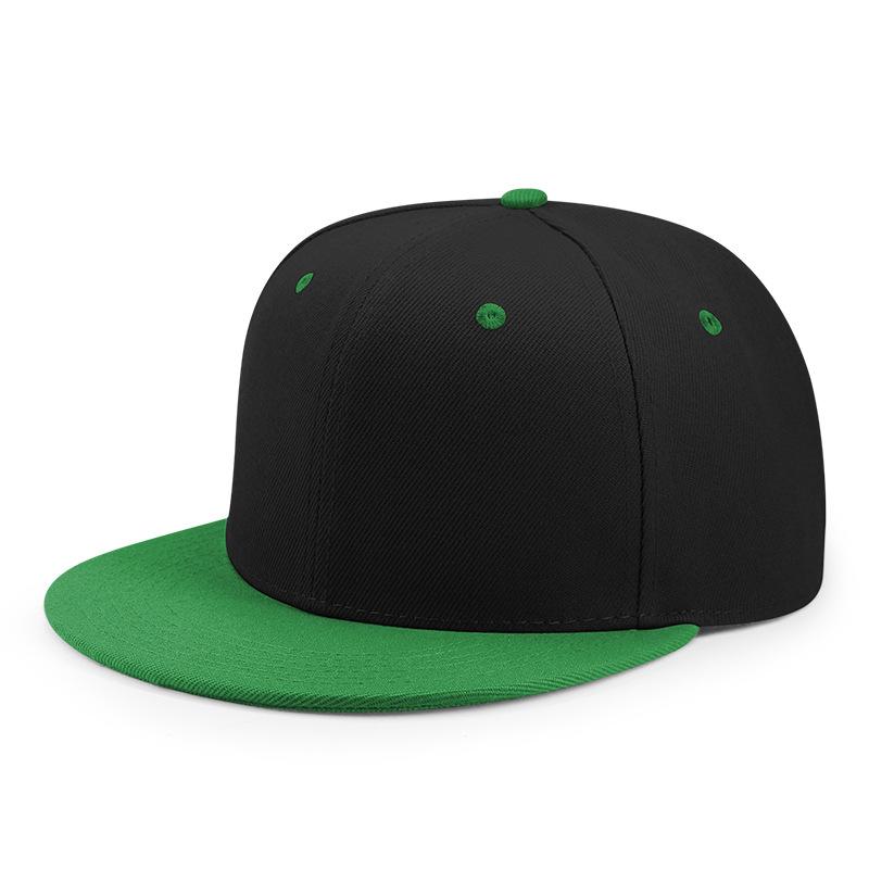 अनुकूलित सादे 6 पैनल हिप हॉप टोपियां snapback कस्टम टोपी निर्माता