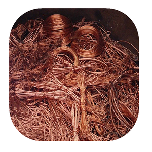 China factory supply Bright Mill berry 99.99% scrap insulated copper wire for sale
