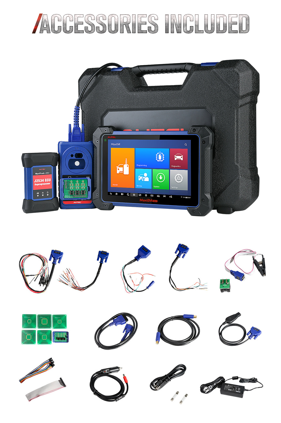 Advance Autel IM608 Universal Auto Diagnostic Tool Key Programming Machine Scanner for All Cars all Keys Lost