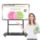 42 50 55 60 65 70 75 80 86 98 inches dual OSlcd interactive touch screen smart board tv interractive whiteboard for classroom