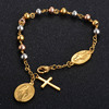 Hot Virgin Mary Bead Stainless Steel Jewelry Bracelet For Woman