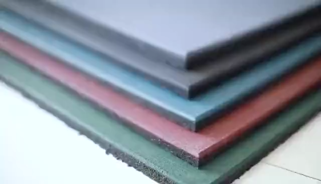 15mm 20mm 25mm 30mm 40mm 50mm gym rubber flooring