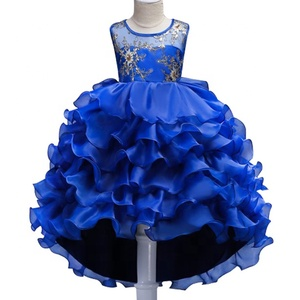 Baby Girls Clothes Children Kids Girl Dresses Fashion Flower Girl Pink Dress Party Birthday Wedding Princess